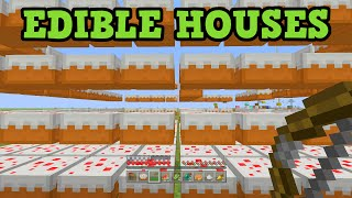 Minecraft Xbox 360 / PS3 - Edible Houses