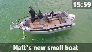 Matt Watsons New Small Boat