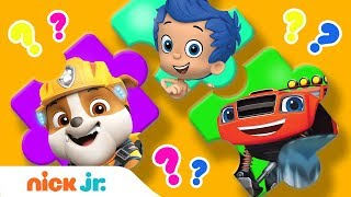 Puzzle Playtime ???? Ep. 7 w/ PAW Patrol, Peppa Pig & Bubble Guppies! | Nick Jr.
