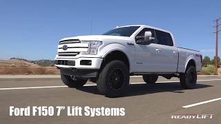 "ReadyLIFT (44-2576): 7"" Lift Kit with Bilstein 5100 Rear Shocks for '15-'19 Ford F-150 4WD"