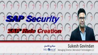 SAP Security - SAP Role Creation