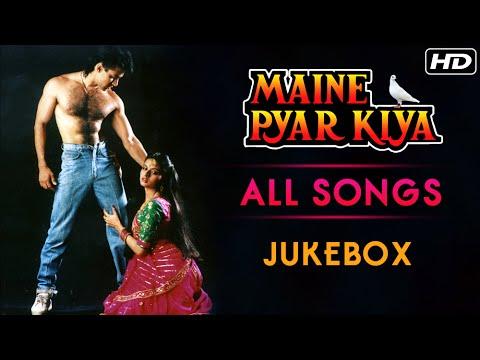 Maine Pyar Kiya All Songs Jukebox (HD) | Salman Khan & Bhagyashree | Evergreen Bollywood Hindi Songs