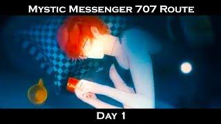 Mystic Messenger 707 Route: Day 1 - Part 1