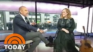 Adele Talks New Album With Matt Lauer In 360-Degree Video | TODAY