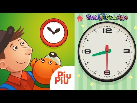 Kinder lernen die Uhrzeit mit Mulle Meck (Willy Werkel) ⏲️ UHR Lernspiele App