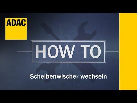 ADAC How To: Scheibenwischer wechseln | ADAC
