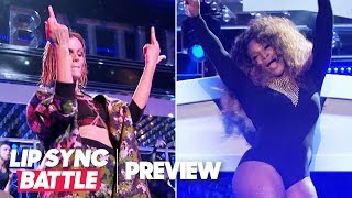 """Serena Williams Joins Brooklyn Decker For Beyoncé's """"Sorry"""" 