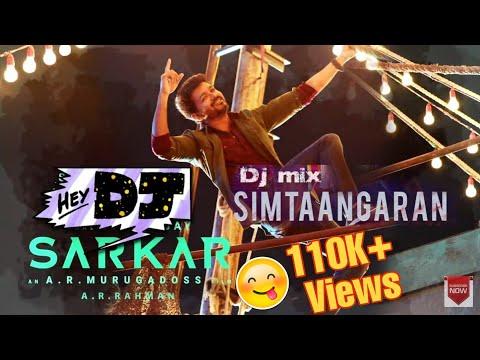 Download Simtaagaaran | Dj | Remix | Thalapathy Vijay | Vijay Mashup |Sarkar songs | OTFC HD Mp4 3GP Video and MP3