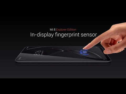 Xiaomi Mi 8 Screen Fingerprint