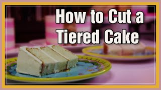 How to Cut a Tiered Cake  | We Heart Cake