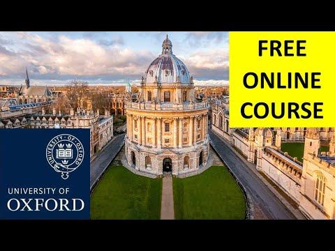 FREE OXFORD ONLINE COURSES with Sure CERTIFICATION   Oxford University ने ऑनलाइन कोर्सेज किए फ्री