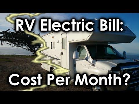 RV Electric Bill:  Cost Per Month?
