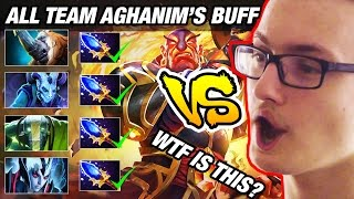 Miracle- vs All Team Aghanim's Scepter Buff by 65K Networth Alchemist - Dota2 7.02