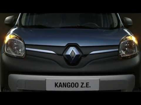 Renault  Kangoo Ze Минивен класса M - рекламное видео 1