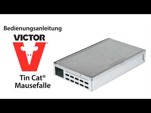 Video preview Tin Cat Mausefalle