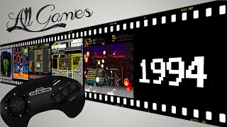 Все игры на Sega Mega Drive / All Games Sega Genesis [1994] (7/10)