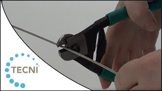 Wire Rope Cutter up to 3mm Diameter