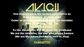 Avicii Silhouettes w Lyrics