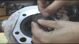 BMW R100 RS airhead engine maintenance エンジンメンテナンス moto tune.Work Report