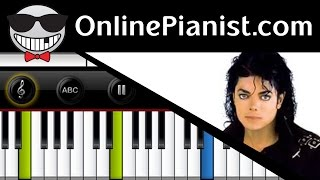 Michael Jackson - The Lady In My Life (Thriller Album) Piano Tutorial & Sheets Easy