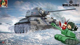 World of Tanks - Т-34 ветка Советских средних танков (Идём к Объекту 430У)