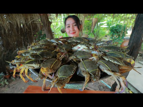 Blue Crab Stir Fry Cooking Recipe – Cooking With Sros