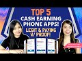 TOP 5 LEGIT EARNING APPS of JUNE 2020 | Ranked By Positive Chika