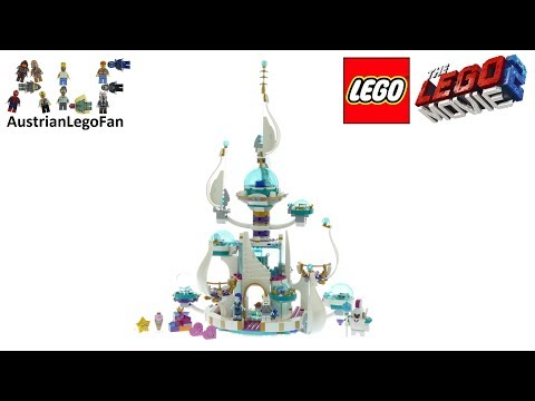 Vidéo LEGO The LEGO Movie 70838 : Le palais spatial de la Reine aux mille visages