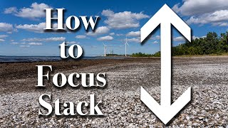 How to Create a FOCUS STACK Using PHOTOSHOP