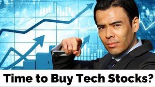 Est-il temps d'acheter des actions technologiques?