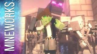 ♫ 'Villagers' - A Minecraft Parody Song of 'Sugar' By Maroon 5 (Music Video) Animation