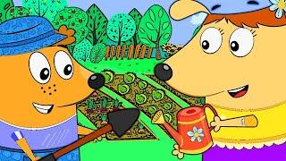Русский обучающий мультфильм для малышей и детей дошкольного возраста - Семейка Собачек Гав Гав Гав