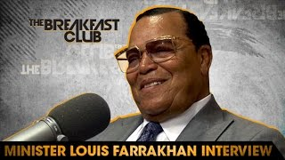 Minister Farrakhan FULL Interview at The Breakfast Club Power 105.1 (05/24/2016)