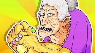 YO MAMA SO OLD! Thanos Snap - Avengers: Infinity War