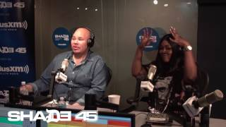 Dj Kayslay interviews Fat Joe at Shade45 - 8/2/17