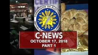 UNTV: C-News (October 17, 2018) PART 1