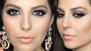 Arabic Inspired Smokey Eye Makeup Tutorial | Sona Gasparian