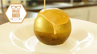 Gold Chocolate Melting Ball - Topless Baker