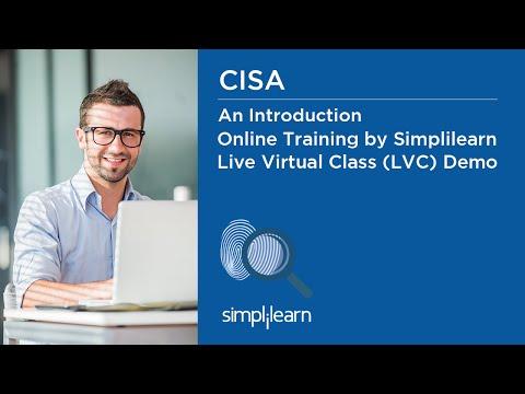 CISA Certification Training By Simplilearn | Live Virtual Class ...