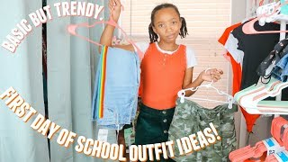First Day Of Middle School Outfit Ideas!