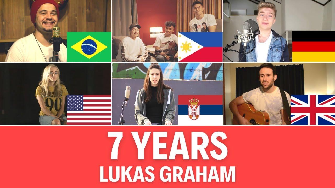 Quem Canta Melhor? Cover 7 Years (Alemanha, Brasil, Estados Unidos, Filipinas, Reino Unido, Sérvia)