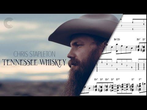 Horn Tennessee Whiskey Chris Stapleton Sheet Music Chords Vocals