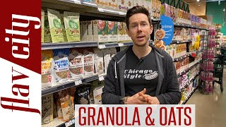 The HEALTHIEST Granola & Oatmeal At The Grocery Store...And Taste Test!