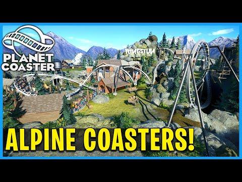 Tungstun, Snow Splash & Twisty Timbers! Planet Coaster: Coaster Spotlight 725