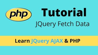 How to fetch data from MySQL using Jquery Ajax and PHP