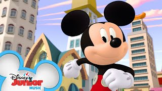 Theme Song 🎶 | Mickey Mouse Mixed-Up Adventures | Disney Junior