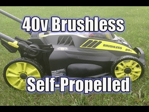 RYOBI 40V 20″ Self Propelled Lawn Mower Review | RY40190