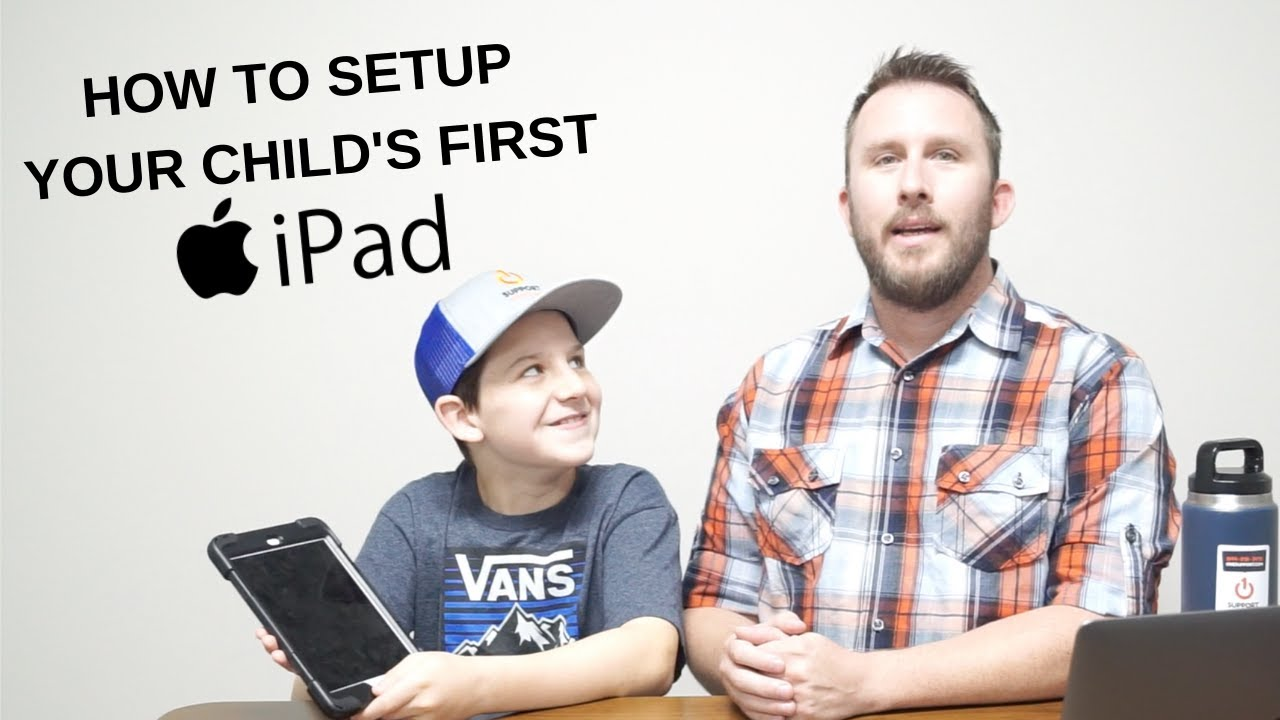 Learn how to configure the iPad so that children can use it without worries