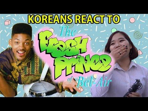 KOREANS REACT TO THE FRESH PRINCE/한국인은 윌 스미스에 반응!/韓国人はウィル・スミスに反応!