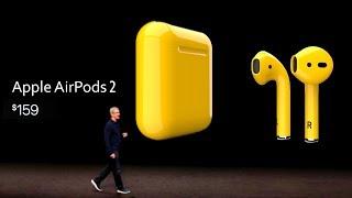 Презентация Apple AirPods 2! Супер игровой Xiaomi Black Shark 2 и остановка продаж Xiaomi Mi9
